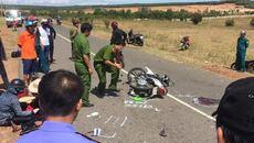 Xe máy đối đầu, 2 thanh niên thiệt mạng sáng mùng 1 tết