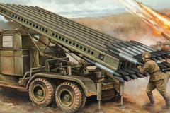 Rocket thế kỷ 19- dàn pháo lực Katyusha trút bão lửa của Nga