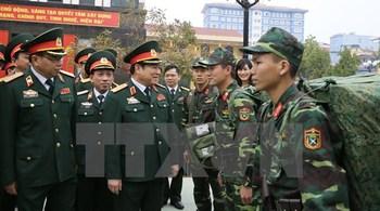 Bộ trưởng Quốc phòng: Không ngừng tăng cường tiềm lực, thế trận quốc phòng