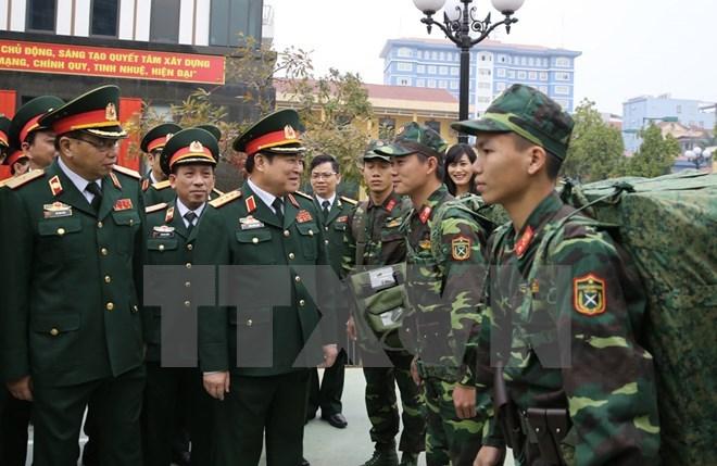 Bộ trưởng Quốc phòng Ngô Xuân Lịch, bộ trưởng quốc phòng, Ngô Xuân Lịch, thế trận quốc phòng, quốc phòng, tiềm lực quốc phòng