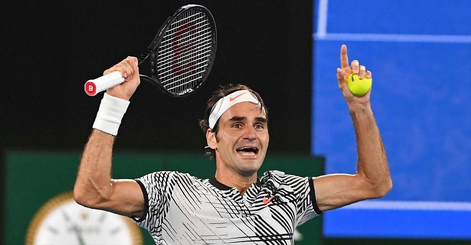 Giây phút vỡ òa của Federer sau khi hạ Nadal ở CK Úc mở rộng – VietNamNet