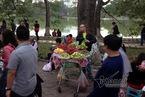 Hình ảnh Hồ Gươm một năm chỉ gặp một lần