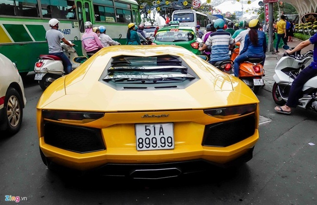 Cường Đô La, Đại gia Sài Gòn, Siêu xe, Sài Gòn, Tết Nguyên Đán 2017