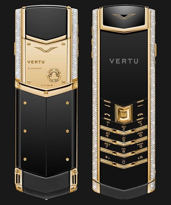 Chiếc điện thoại Vertu đắt nhất Việt Nam: 1,9 tỷ đồng