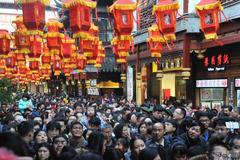 Hàng triệu du khách TQ tràn về các điểm du lịch