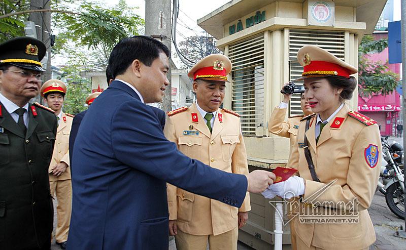 CSGT Hà Nội,chủ tịch hà nội,nguyễn đức chung