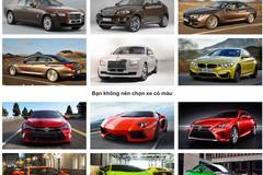 Người mệnh Kim nên mua xe màu gì?