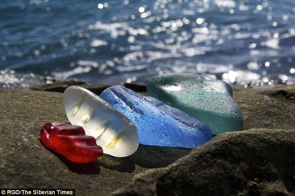Kỳ diệu bãi biển chứa hàng tỷ viên 'đá quý' ở Nga