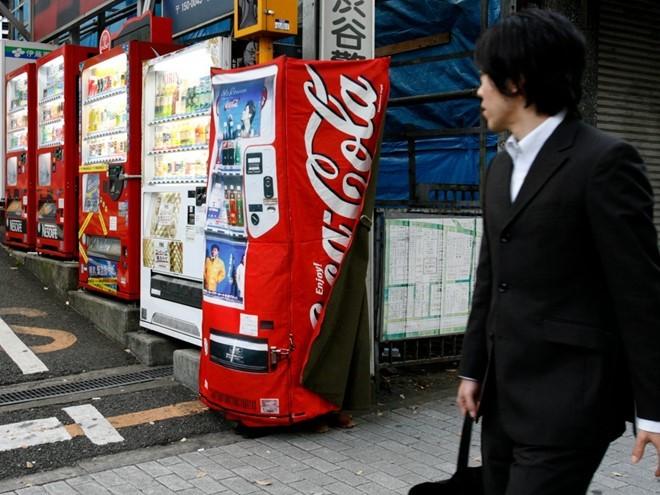 máy bán hàng, Nhật Bản, du lịch, Tokyo, tự động