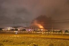 Cháy kèm nổ lớn ở nhà máy ô tô Trường Hải