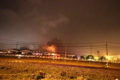 Trường Hải thông tin vụ cháy nhà máy lắp ráp xe buýt