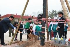Mỗi trường ở Hà Nội sẽ trồng thêm ít nhất 5 cây xanh trong năm mới