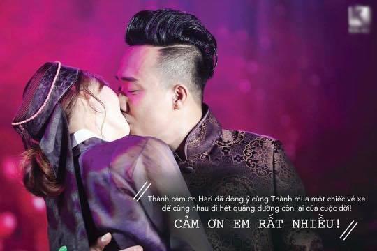 Những câu nói hơn cả ngôn tình Trấn Thành dành cho Hari Won