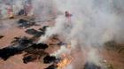 Độc đáo ngày hội mịt mù lửa khói tại Hà Nội