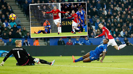 Video bàn thắng Leicester 0-3 MU