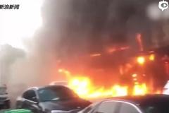 Cháy tiệm mát-xa, 18 người chết