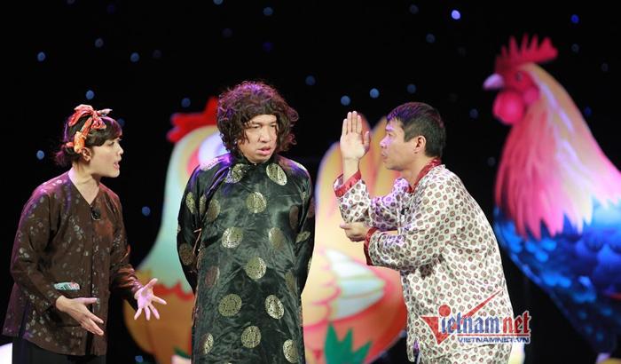 Quang Thắng xin phép Công Lý được tán Vân Dung