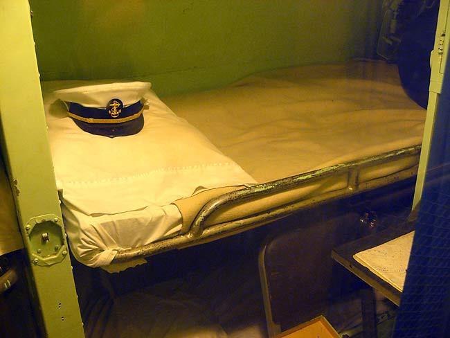 tàu ngầm hạt nhân, tàu thủy, BUỒNG NGỦ THỦY THỦ, tàu ngầm quân sự