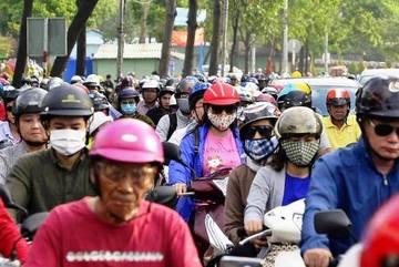 Cửa ngõ Sài Gòn ùn tắc nghiêm trọng ngày đầu tuần