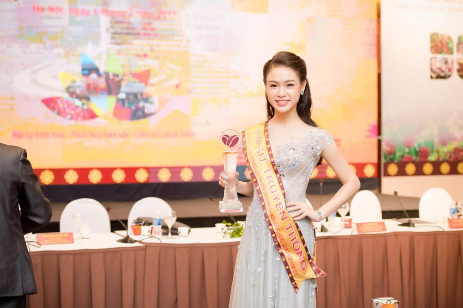 Người đẹp Ngọc Vân trở thành đại sứ lễ hội cà phê