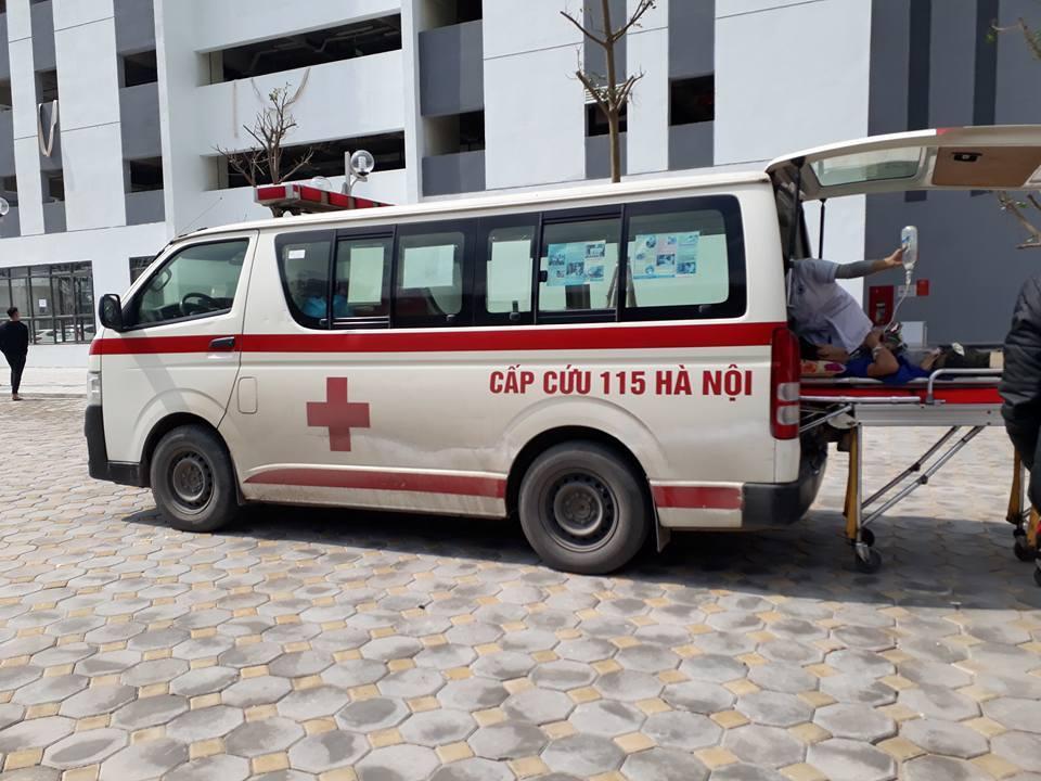 Hà Nội: Nổ thùng phuy, một người bị thương nặng