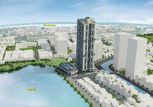 Smile Trung Yên Building, dự án căn hộ 3 mặt view hồ
