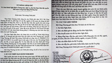 Bộ Công thương nói về việc trình văn bản ông Vũ Huy Hoàng ký