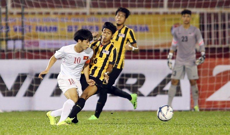U23 Việt Nam vs U23 Malaysia,HLV Hữu Thắng,SEA Games,Công Phượng