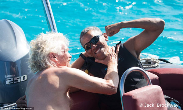 Hình ảnh ấn tượng của Obama khi về hưu