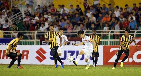 Màn trình diễn của Công Phượng trước U23 Malaysia