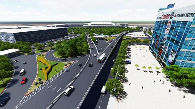 Tân Sơn Nhất, sân bay Tân Sơn Nhất, giải cứu kẹt xe, kẹt xe, ùn tắc, mở rộng sân bay