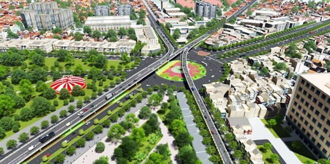 """Khởi công 2 dự án """"giải cứu"""" kẹt xe ở Tân Sơn Nhất"""