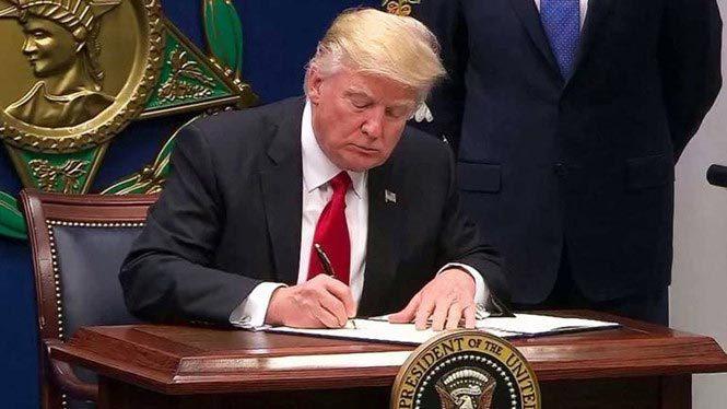 Donald Trump, cấm nhập cảnh