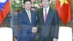 Chủ tịch nước tiếp Thủ tướng Lào