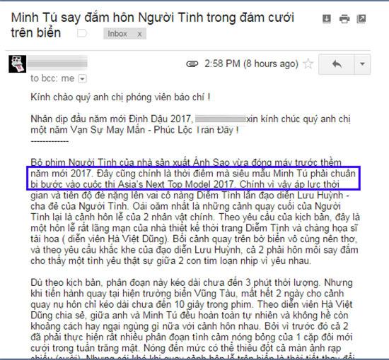 Minh Tú chính thức đại diện Việt Nam ở Asia's Next Top Model