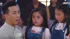 Trấn Thành - Trường Giang chọc hai cô bé khóc nức nở