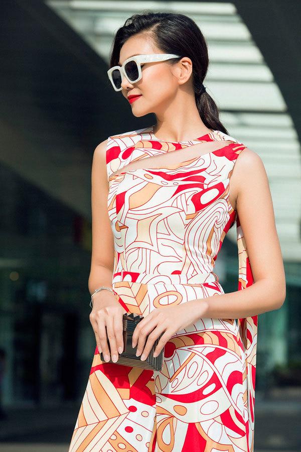 Mát mắt với hình ảnh mới của siêu mẫu Thanh Hằng