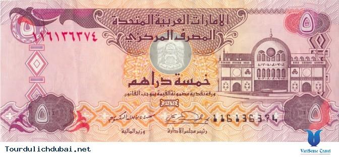 Tiền tệ của Dubai quy đổi ra tiền Việt ra sao?