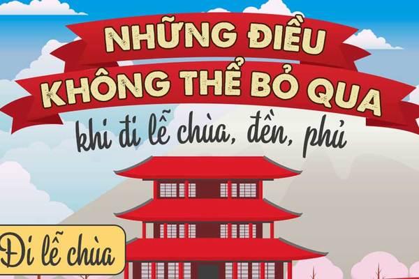 Những sai lầm khi lễ chùa, đền, phủ người Việt cần tránh
