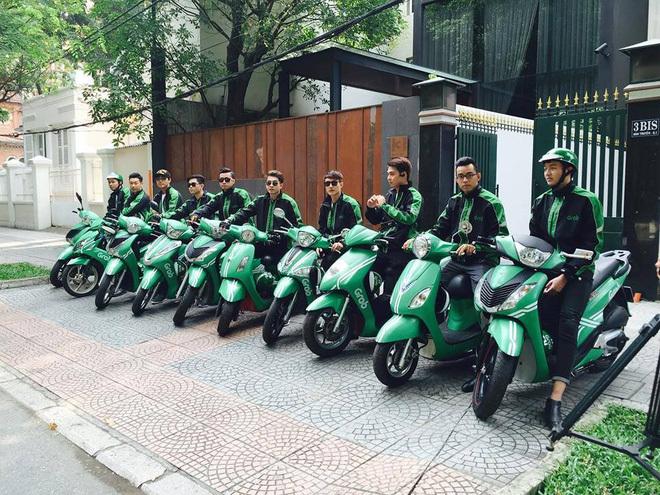 'Siêu Grabbike' xuất hiện làm cả đường trầm trồ