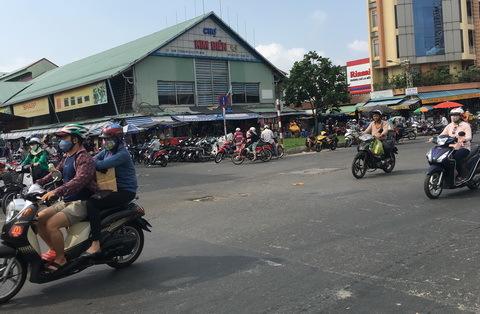 Quách Đàm, chợ Bình Tây, kinh doanh, Sài Gòn