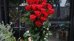 Quà Valentine tặng hotgirl: Cành hoa hồng cao bằng người