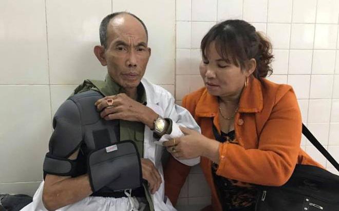 Bắt tạm giam người cha hành hung thương binh già
