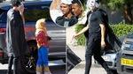 Phát khiếp với bộ dạng của Ronaldo đưa con đến trường
