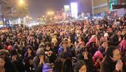 Hàng nghìn người đổ về đại lễ cầu an chùa Phúc Khánh