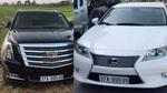 Nghệ An: Xuất hiện 2 chiếc xe sang cùng gắn biển ngũ quý 99999