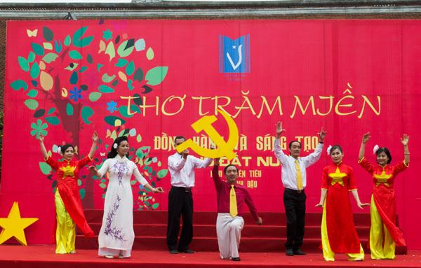 Ngày thơ Việt Nam ở Hà Nội 2017