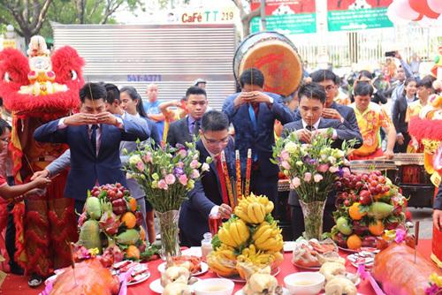 Công ty Cổ phận Địa ốc Kim Phát khai Xuân đón lộc