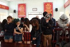 Bắt quả tang 37 đối tượng chơi ma túy trong quán karaoke