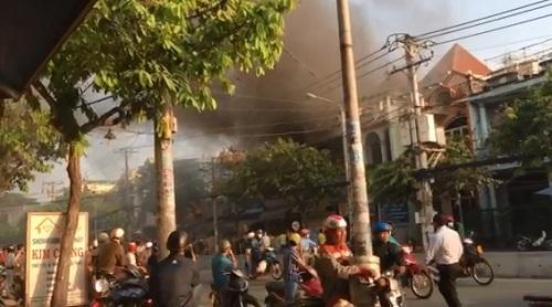 Cửa hàng thú bông ở Sài Gòn phát hỏa trước ngày Valentine